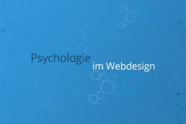 psychologie im Webdesign
