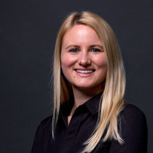 Teamleiterin Olivia Zenzs